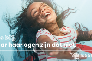 Essilor steunt Jantje Beton op World Sight Day