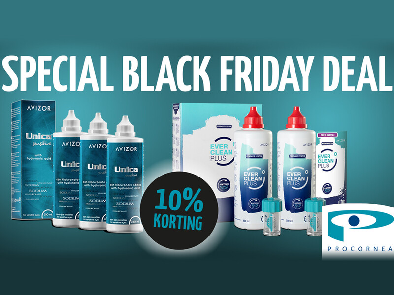 De Black Friday deal van Procornea