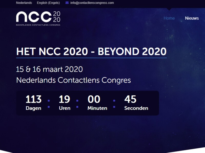 Programma en website nu ook Beyond 2020