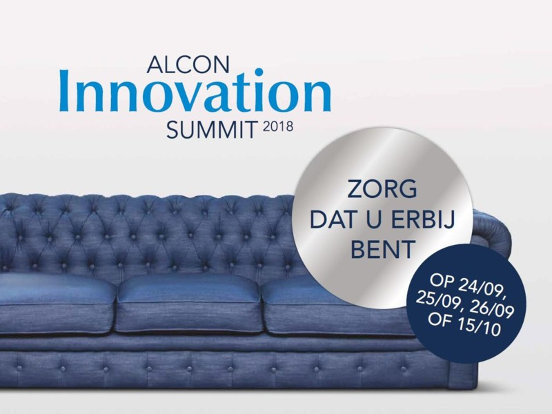 De Alcon Innovation Summit 2018