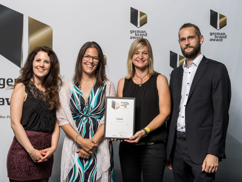 Lunor wint de German Brand Award 2018